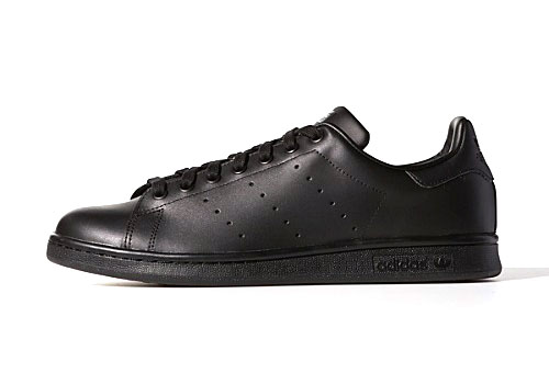 Mens Adidas Stan Smith Black Netherlands